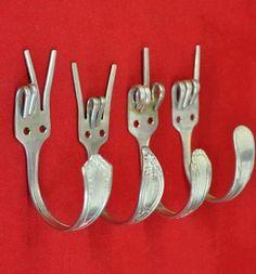 Sign language fork hooks!