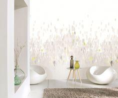 Collection AMAZING : papier-peint, abstrait, couleurs claires, blanc, gris, élégant