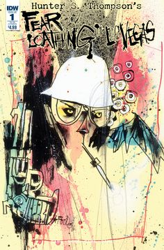 """IDW is offering a special """"Great White Whale"""" Edition for Troy Little's graphic novel adaptation of Hunter S. Thompson's Fear and Loathing in Las Vegas. Thompson was hired by a sports magazine in 1971 to cover the Mint 400, an off-road race through the desert outside of Las Vegas. However, the magazine rejected his draft …"""