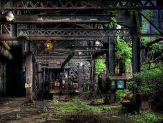 Photo taken at Bethlehem Steel, Bethlehem, Pennsylvania.  Full gallery online at abandonedamerica.org.