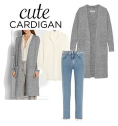 """spring cardigan"" by reemms21 ❤ liked on Polyvore featuring By Malene Birger, Joseph, Acne Studios, cutecardigan and springlayers"