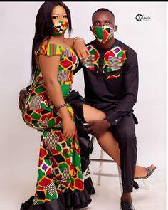 Couples African Dresses: 2020 Most Popular Designs Short African Dresses, African Print Dresses, African Print Fashion, Africa Fashion, African Fashion Dresses, Mom Fashion, African Attire, African Wear, African Women