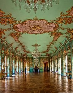 The Golden Gallery, in Charlottenburg Palace, Berlin.