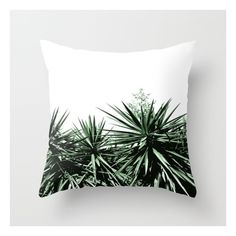 Yucca Throw Pillow (26 CAD) ❤ liked on Polyvore featuring home, home decor and throw pillows