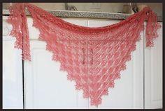 lightweight crochet shawl pattern