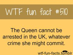 One thing to prove why I don't show the royal family any more respect then I would anyone alse