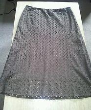 J crew size 14 brown skirt