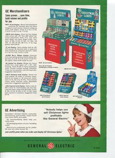 General Electric Christmas Light Ad In The July 1969 Hardware Age Magazine This Was Targeted GENERAL ELECTRICChristmas LightsJuly