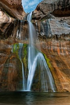 Lower Calf Creek Falls by  Claus Cheng on 500px.com (Original Size - Height: 979px - Width: 650px)