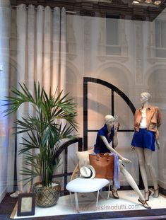 """MASSIMO DUTTI,Milan,Italy, """"Check-In"""", pinned by Ton van der Veer"""