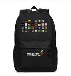 Minecraft Creeper School Backpack Enderman Hat Custom Made | Best ...