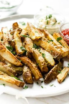 Making truffle cheese fries in the air fryer is easy! I'll show you how this messy, cheesy, stuck together bundle of deliciousness can get to YOUR table for dinner! Truffle Cheese, Vegetarian Side Dishes, Cheese Fries, Small Plates, Truffles, Dinner, Healthy, Easy, Veggie Dishes