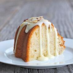 Moist Banana Coconut Pound Cake