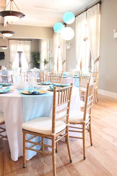 Local Interior Design and Event Planning Services - Starfish Cottage Beach Wedding Decorations, Beach Wedding Favors, Blue Beach Wedding, Interior Design Services, Service Design, Event Planning, Coastal, Dining Chairs, New Homes