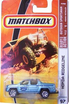 Matchbox 2009, Honda Ridgeline # 97, Outdoor Sportsman 1:64 Scale. by Mattel. $0.98