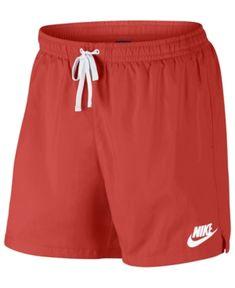 Nike Men's Sportswear Shorts In University Red/white Red Shorts, Nike Shorts, Teen Fashion Outfits, Short Outfits, Gym Outfit Men, Short Shirts, Nike Sportswear, Nike Men, Bermudas