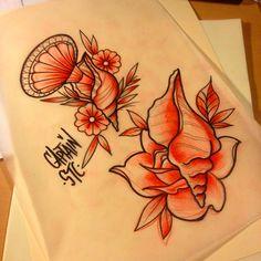 #tattoo #tattoos #tattooart #tradition #traditional #colortattoo #oldschool tattoo #traditionaltattoo #colortattoo