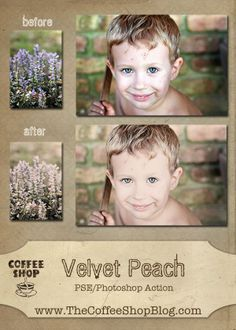 CoffeeShop Velvet Peach action