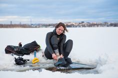 Finnish Freediver Johanna Nordblad has announced that she will be going for a new Women's World Record for Freediving 50m horizontally under ice with no fins. This type of record is not officially recognized by Freediving agencies such as AIDA International, however Stig Severinsen famously hit 500 feet (152.4 meters) to set a mens Guinness …