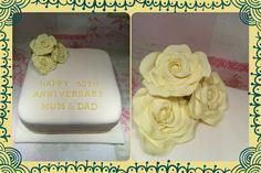 50% Anniversary Cake
