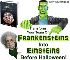 Leadership for Einsteins: How Smart Leaders Bring Out the Genius in People, is loaded with actionable, proven methods of transforming teams, and it comes with a free, virtual coaching session!
