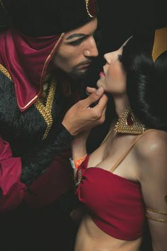 Jafar Jasmine Cosplay by ladylilicosplay