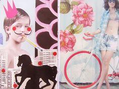 juliana rabelo | illustration sketchbook + colagens