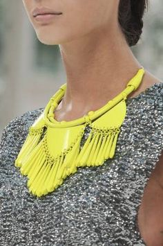 beautiful neon necklace