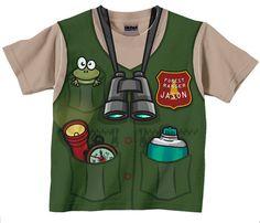 Forest Ranger Shirt Personalized Childrens Park Ranger
