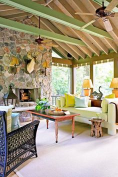 A quirky 1930s craftsman-built Indiana cabin becomes an enchanting cottage getaway after a thorough, true-to-its-roots makeover.
