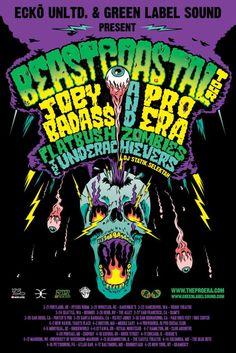 Beast Coastal Tour with Joey Bada$$, Pro Era, Flatbush Zombies, The UnderAchievers hits North America