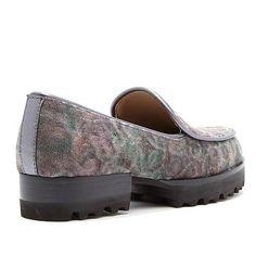 Donald J Pliner Donald J. Pliner Elen Slip-On Loafer - Gray/Grey