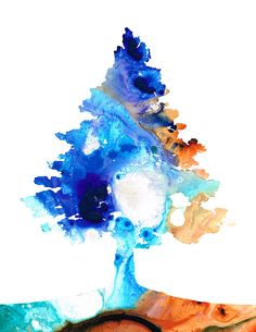 Colorful Abstract Tree, all ages