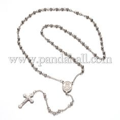 304 Stainless Steel Chain Necklaces with Lobster Clasps Stainless Steel Color 22.04