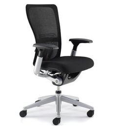The only office chair endorsed by the American Physical Therapy Association. Features asymmetrical lumbar support, a gel seat, and is fully adjustable. Cool Office Desk, Home Office Chairs, Adjustable Office Chair, Ergonomic Office Chair, Haworth Zody Chair, Lounge Furniture, Office Furniture, Love Chair, Office Seating