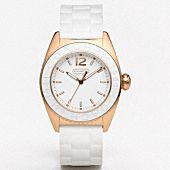 pretty watch! love the mix of white and gold. so simple but yet so gorgeous <3xojo