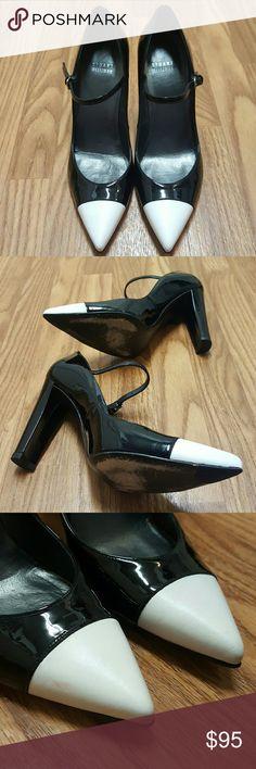 Stuart Weitzman Capsize Pointed Mary Jane Pump Stuart Weitzman Capsize Pointed Mary Jane Pump Size 9 M Gently worn. Stuart Weitzman Shoes Heels