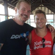 Great seeing my bro #DDP today!  I've said it before and I'll say it again...@ddpyoga SAVED MY LIFE! Please....please...PLEASE give this program a try if you're feeling any pain or are out of shape. It really works!! #aintyourmamasyoga #therealdeal @chriscavallini
