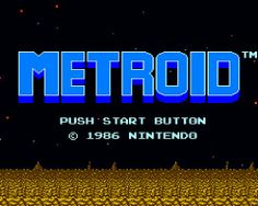 Metroid Title Screen - The Evolution Of Storytelling In Video Games @camayak