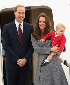 The royals capped off their three-week tour of Australia and New Zealand with one last adorable photo op in April.