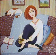 Калинкина Дина. Ромашковый чай #biblioteques_UVEG