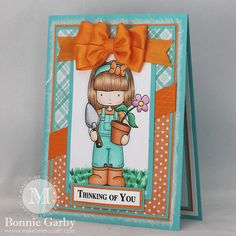 Make Time To Craft: Springtime Thinking of You Card