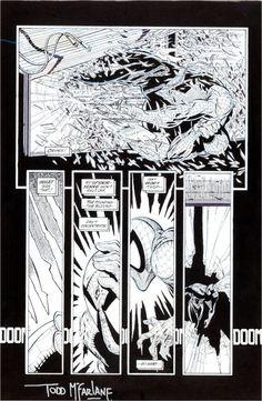 Todd McFarlane Spider-Man #2 Page 10 Original Art (Marvel,1990)