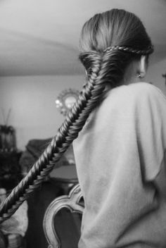 Imagine how much time it would take to make this fishtail.. ha