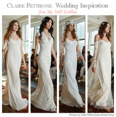 Wedding Inspiration Featuring Claire Pettibone's New Romantique Collection - MyHotelWedding.com