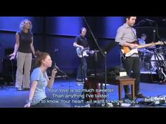 Closer - Bethel Music featuring Steffany Frizzell...I want to know your Heart the best song ever!!