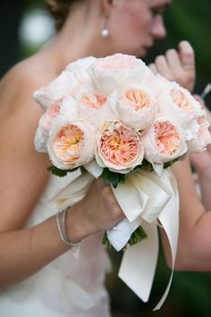 Brides: Soft, Romantic Flowers for an Elegant Garden Wedding  Flowers by Felicity Banford (Bontecou) Millerton NY, My Fabulously talented sister!