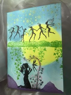 lavinia stamps challenge Fairy Chain - Cheryl Wright