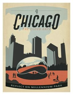 Striking City Posters Inspired By The Golden Age of Poster Art Design - DesignTAXI.com