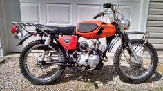 Original Owner: 1971 Bridgestone 100 TMX - http://barnfinds.com/1971-bridgestone-100-tmx/